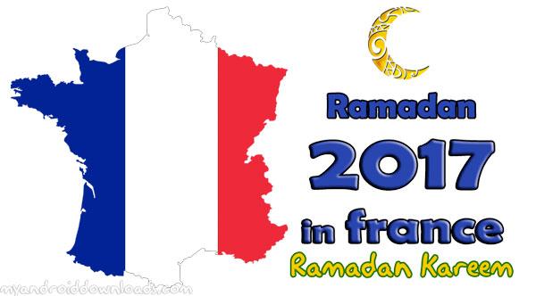 تحميل امساكية رمضان 2017 فرنسا - امساكية رمضان 1438 فرنسا - تقويم رمضان 1438 فرنسا