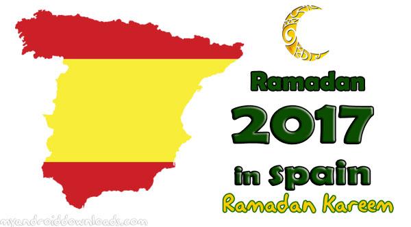 امساكية رمضان 2017 اسبانيا تقويم رمضان 1438 Spain Ramadan Imsakia