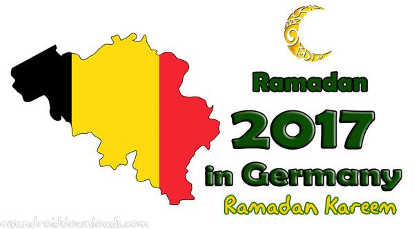 تحميل امساكية رمضان 2017 المانيا تقويم رمضان 1438 هـ Ramadan Imsakia