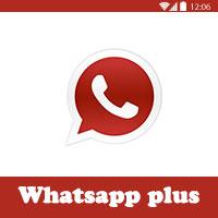 تنزيل واتساب بلس الاحمر للاندرويد 2017 Whatsapp Plus Red واتس اب احمر