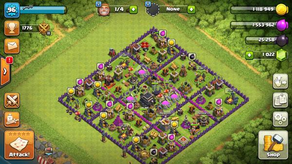 طور مباني الدفاع لتحصن القرية من اى هجوم