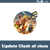 تحديث لعبة كلاش اوف كلانس الجديد 2017 تحميل تحديث Clash of Clans APK