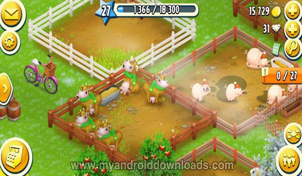 مزارع الحيوانات في لعبة هاي داي