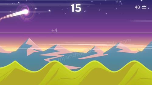 تحميل لعبة Dune للاندرويد - احصل على اعلى النقاط بعد اجتياز الخط والارتفاع عاليا