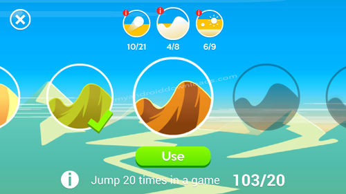 تحميل لعبة Dune للاندرويد - استمتع لعبة داني للجوال وقم بتغيير لون الكثبان الرملية