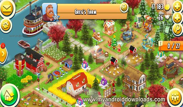 مزرعة جريج في لعبة هاي داي الاصدار الاخير