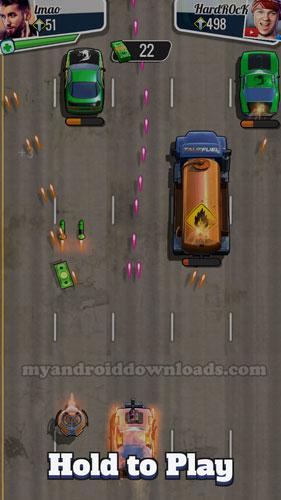 تحميل لعبة fastlane للاندرويد - قد سيارتك واحذر العوائق