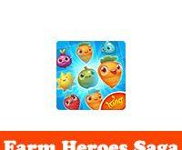 تحميل لعبة farm heroes saga للموبايل فارم هيروز ساجا مجانا