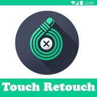 TouchRetouch برنامجمسح الكتابة من الصور تتش ريتتش