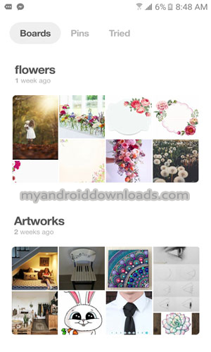 لوحات/قوائم الصور التي تم حفظها في بنترست - Pinterest board