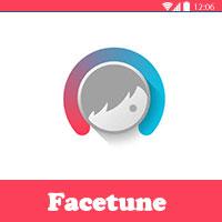 برنامج فيس تون facetune لفلاتر الوجه وتصفية الوجه