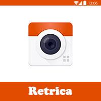 برنامج ريتريكا Retrica لتصوير السلفي