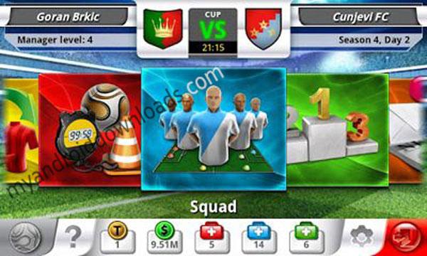 تحديد المنافسة بين فريقين - تحميل لعبة توب الفين فوتبول مانجر - top eleven للاندرويد