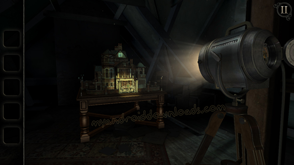 القصر المهجور في لعبة The room old sins