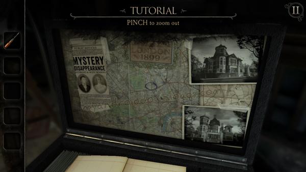 الادوات وحقيبة المحقق في لعبة الغرفة الجزء الرابع