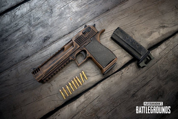 المسدس الجديد في تحديث ببجي 0.15.0