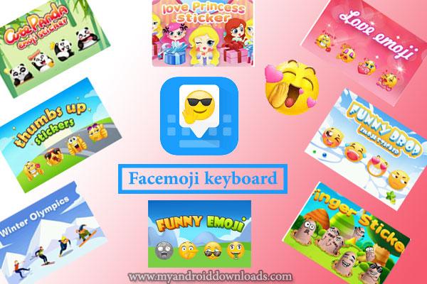 أفضل كيبورد يدعم الملصقات كيبورد فيس ايموجي Facemoji keyboard