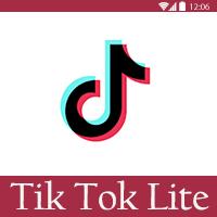 تحميل تيك توك لايت للموبايل Tik Tok Lite