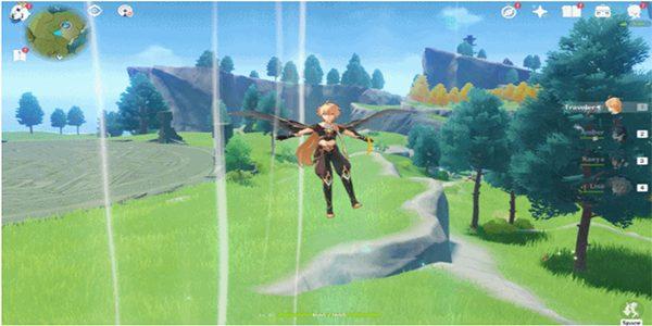 ملاقف الهواء في لعبة Genshin Impact الجديدة