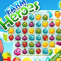 لعبة farm heroes saga