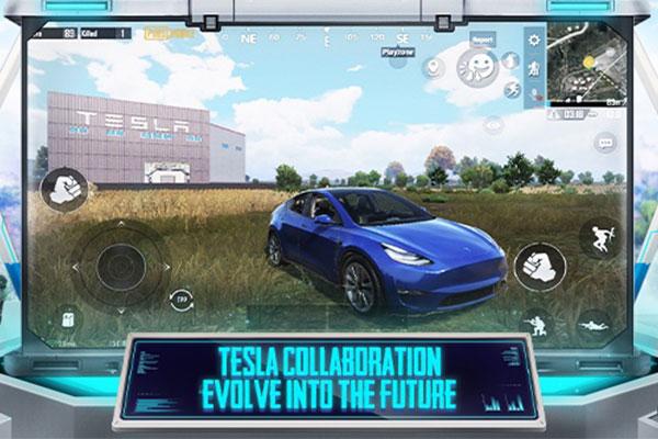 سيارة ذاتية القيادة في تحديث ببجي الاصلية للموبايل برابط مباشر