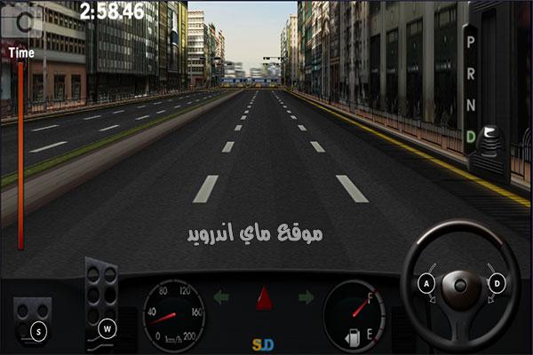 اهم ادوات التحكم في لعبة سباق السيارة dr driving التحديث الجديد